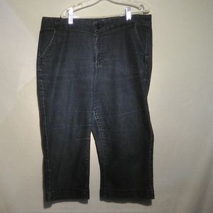 Riders blue denim capris 14M  #160